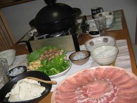 豆乳鍋 豚しゃぶ