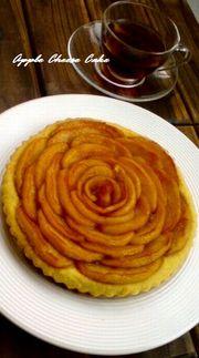 ☆おからのアップルチーズケーキ☆の写真