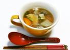 鶏軟骨入り野菜スープ