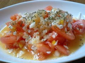 トマト☆ゆで卵のサラダ