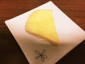 レンジでスライスチーズケーキ