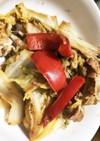 豚と白菜のたぬき味噌炒め