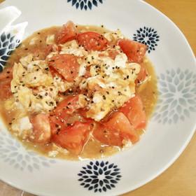 トマトと卵の炒めもの★5分で完成