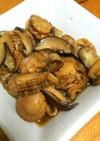 ベビーホタテと椎茸の佃煮