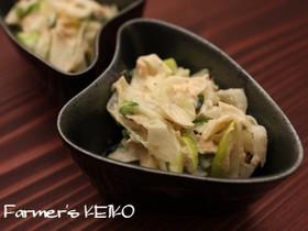 【農家のレシピ】長ねぎのツナサラダ