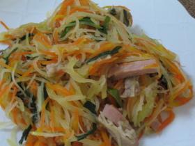 沖縄料理☆パパイヤイリチー(炒め)