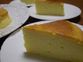 サワークリーム入りチーズケーキ(スフレ)