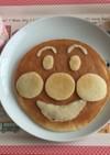 ホットケーキだけで簡単☆アンパンマン☆