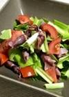 春の味覚★ホタルイカとうるいのサラダ