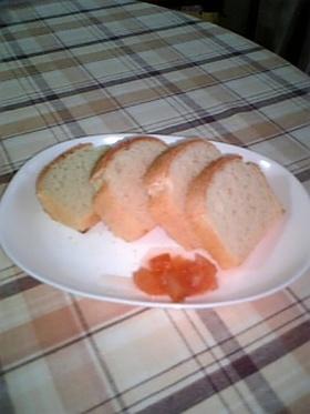 簡単もちもちお米パン
