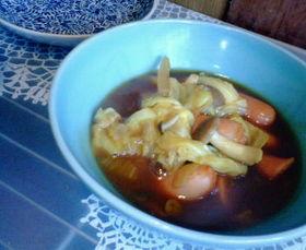キャベツがおいしい カレースープ
