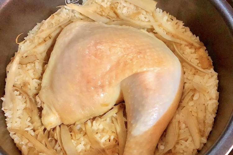 器 炊飯 鳥 もも肉