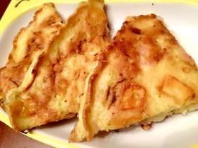 ハムチーズお好み焼き(幼児食/冷凍可)