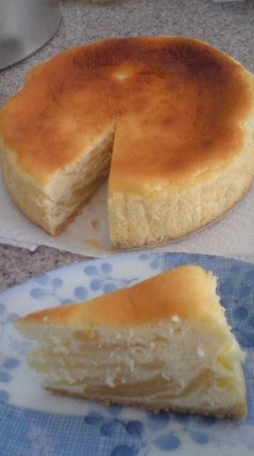 さっぱりカロオフ☆ベイクドチーズケーキ☆