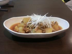 豚肉と大根のカレー煮