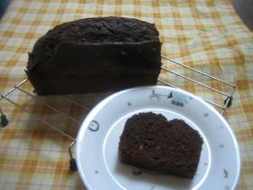 簡単チョコレートケーキオレンジピール入り