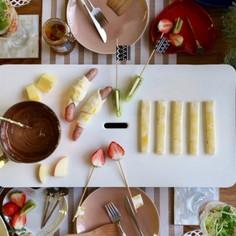 ウインナーパイ&パイDEチョコフォンデュ