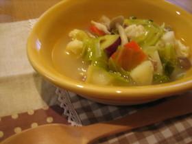 ~。:*食べ~るスープ*:。~