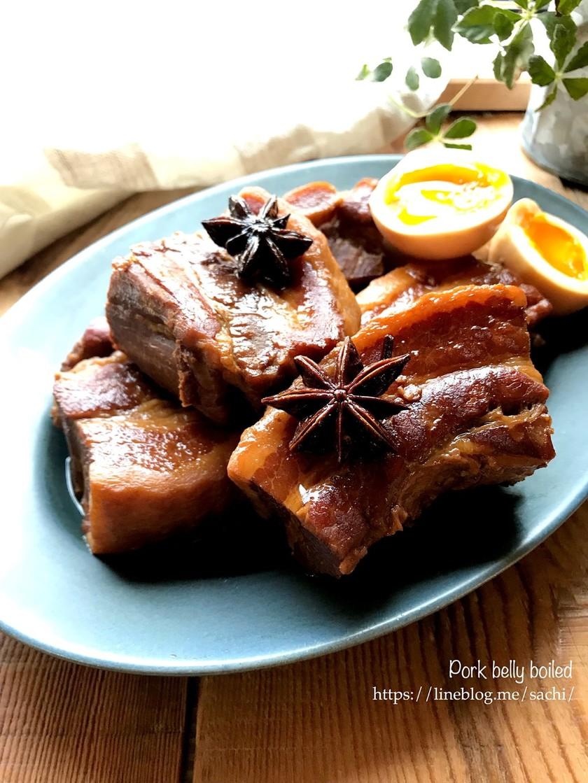 八角で本格中華風!豚の角煮