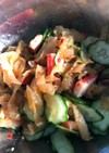 超簡単中華クラゲとカニかまときゅうり和え
