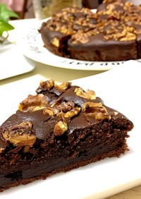 HMで簡単チョコレートケーキ