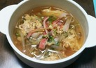 もやしと豆苗のスープ