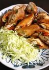 ササミと野菜の変わり春巻き