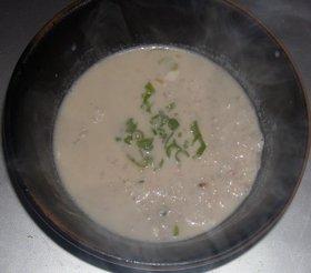 雑穀米のミルク味噌雑炊