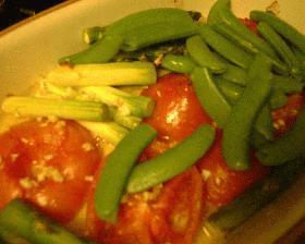 プロヴァンス風焼きトマト