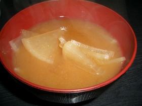 簡単☆大根ダケの味噌汁