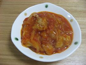 簡単!!チキンのトマト煮込み