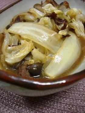 牛肉と白菜のオイスター炒め