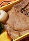 豚ロース薄切りで、やわらか豚丼弁当