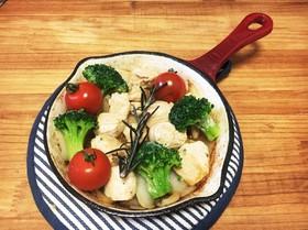 野菜たっぷりヘルシーグリルチキン