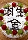 オリンピック応援ケーキ