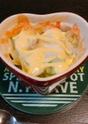 簡単!!アボガドポテトのチーズ焼き