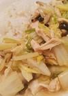 とろ~り白菜とささみのあんかけご飯