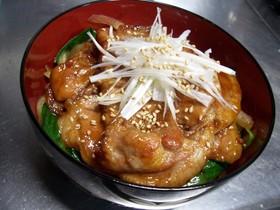 甘辛しょう油味の豚丼 ☆ おススメ丼ッ♪