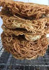ノンフライヤー エアフライ 自家製揚げ麺