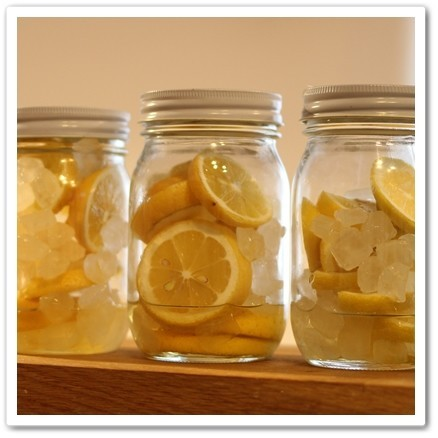 国産レモンが手に入ったら…レモンシロップ