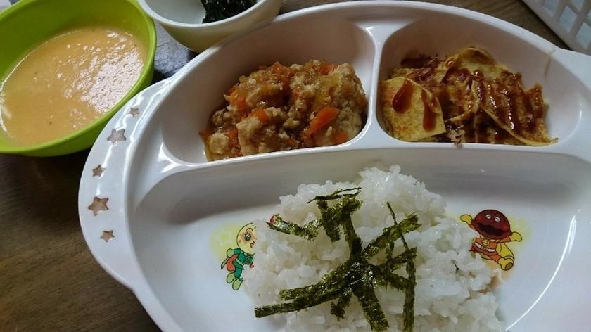 2歳♡野菜たっぷりの夕飯