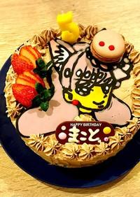 スタジオシズル キャラクターケーキ