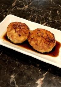 鶏豆腐ふわふわハンバーグ。お弁当にも最高