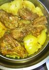 スペアリブのカレー炊き込みご飯
