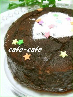 英国のちょっと変なチョコレートケーキ