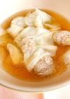 簡単に作れる手作りワンタンスープ