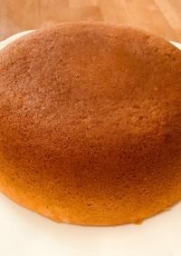 HMで作る炊飯器でヨーグルトバナナケーキ