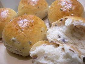 自然食五穀飯入りパン