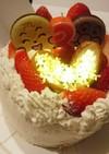 簡単♪アンパンマンケーキ
