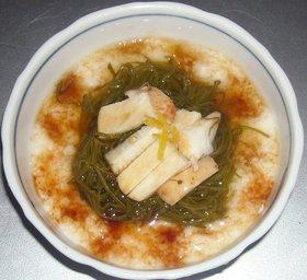 山芋&めかぶの酢の物